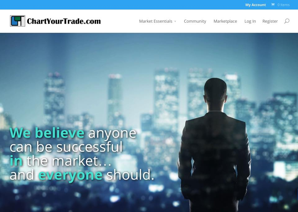 ChartYourTrade.com New look